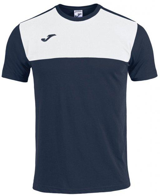 Футболка Joma Winner 101683.332 S Темно-синя (8424309039936) - зображення 1