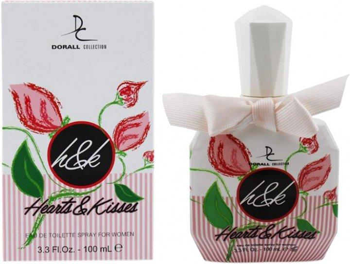 Туалетная вода для женщин Dorall Collection Heart & Kisses 100 мл (6291012875302) - изображение 1