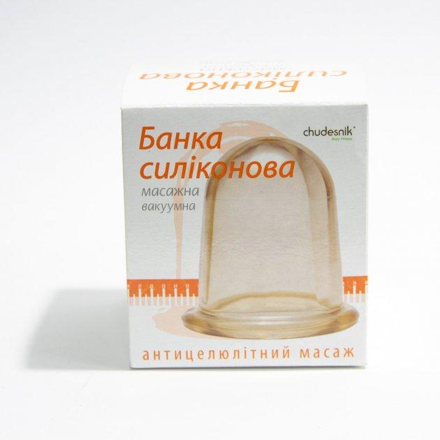 Банки для вакуумного массажа, антицеллюлитного массажа, 2 большие Чудо-Банки Селком (1001170) - изображение 1