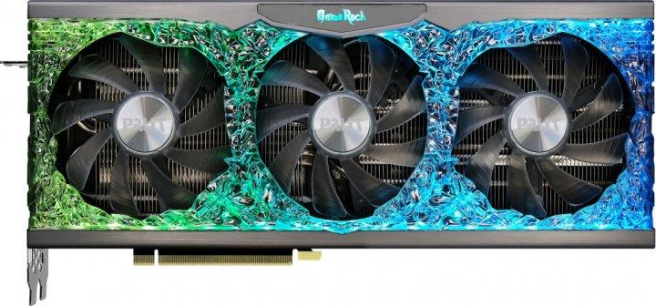 Palit PCI-Ex GeForce RTX 3090 GameRock OC 24GB GDDR6X (384bit) (1395/19500) (HDMI, 3 x DisplayPort) (NED3090H19SB-1021G) - зображення 1