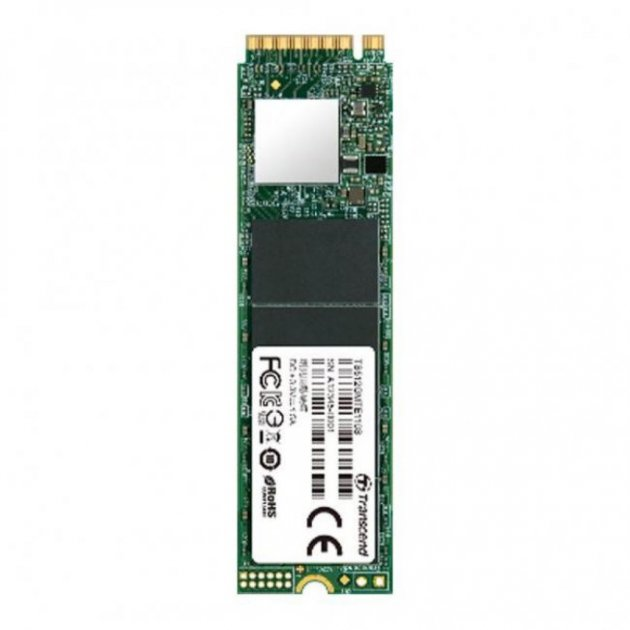 Накопичувач SSD M. 2 2280 128GB Transcend (TS128GMTE110S) - зображення 1
