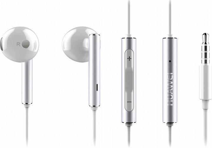 Наушники Huawei Half In-Ear Earphones AM116 White (22040281) - изображение 1