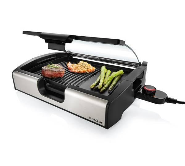 Гриль SilverCrest STGG 1800 A1 Tisch-grill - зображення 1