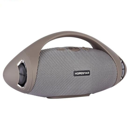 Bluetooth-колонка HOPESTAR-H37, StrongPower, c функцією speakerphone, радіо, grey - зображення 1
