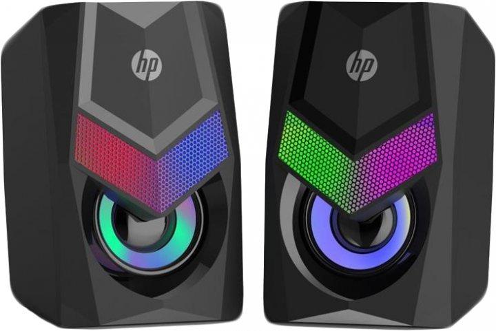 Акустична система HP DHE-6000 LED RGB Black - зображення 1