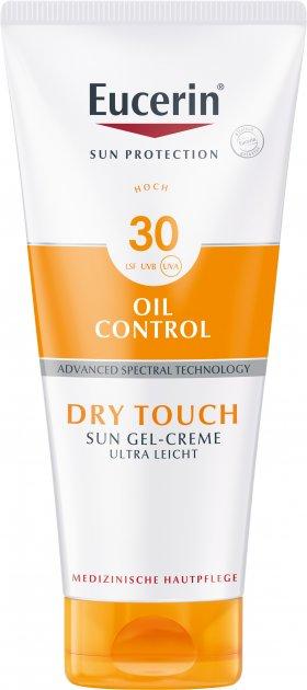 Солнцезащитный ультралегкий гель-крем Eucerin Oil Control с матирующим эффектом SPF 30 200 мл (4005800264665) - изображение 1
