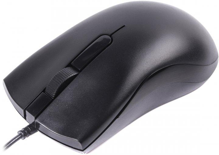 Миша Maxxter Mc-211 USB Black - зображення 1