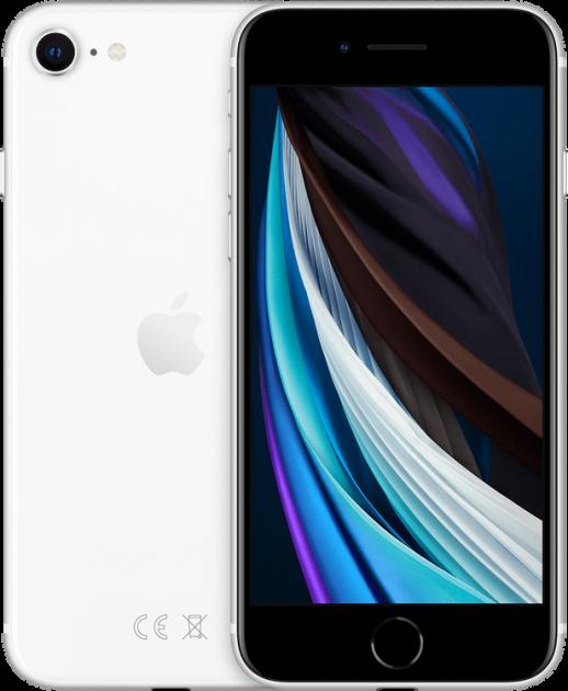 Мобильный телефон Apple iPhone SE 64GB 2020 White Slim Box (MHGQ3) Официальная гарантия - изображение 1