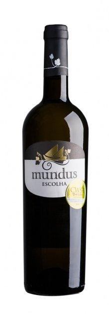 Вино Adega da Vermelha Mundus Escolha белое сухое 0.75 л 13% (5602523122099) - изображение 1
