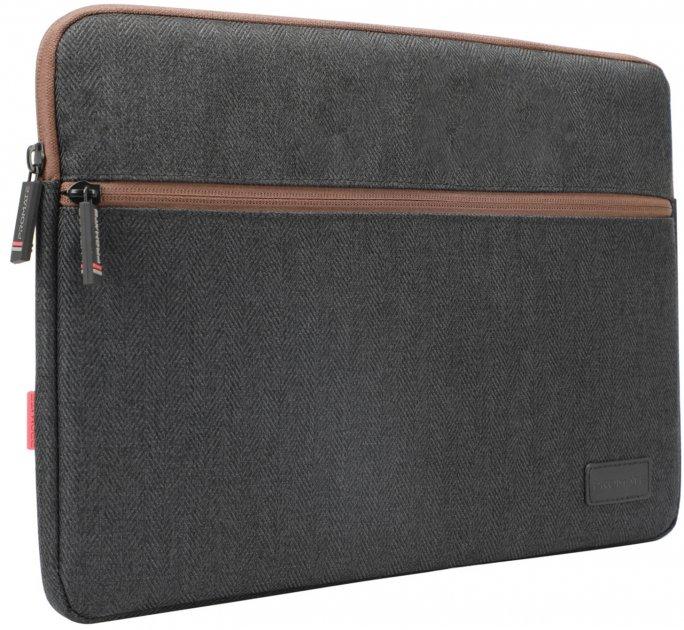 """Чохол для ноутбука Promate Portfolio-L 16"""" Black (portfolio-l.black) - зображення 1"""