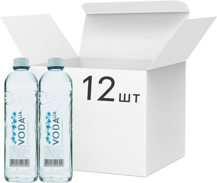 Упаковка води питної негазованої VodaUA Карпатська високогірна джерельна 0.4 л х 12 пляшок (480227100309) - зображення 1