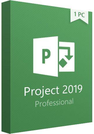 Ліцензія PROJECT 2019 PRO (Всі мови) (H30-05756) - зображення 1