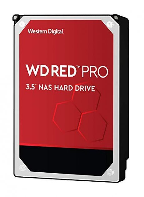 Жесткий диск Western Digital SATA 12TB 6GB/S 256MB RED PRO WD121KFBX WDC WD - изображение 1