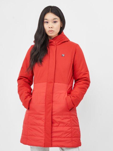 Куртка Fila A20AFLJAW01-R3 S Темно-красная (2991024287264) - изображение 1