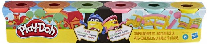 Игровой набор Hasbro Play-Doh 6 баночек (F0605_F0629) (271873961) - изображение 1