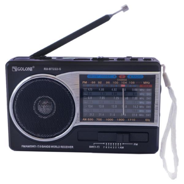 Радіоприймач Golon RX-222 S (RX-222S) - зображення 1