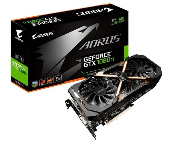 Відеокарта GIGABYTE GeForce GTX 1080 Ti AORUS 11G (GV-N108TAORUS-11GD) - зображення 1