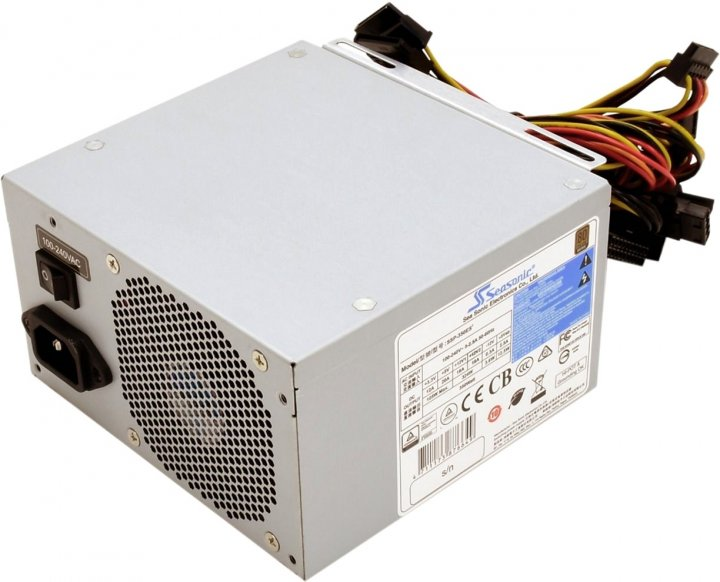 Seasonic ES2 ATX 500W 80 PLUS Bronze (SSP-500ES2) - изображение 1