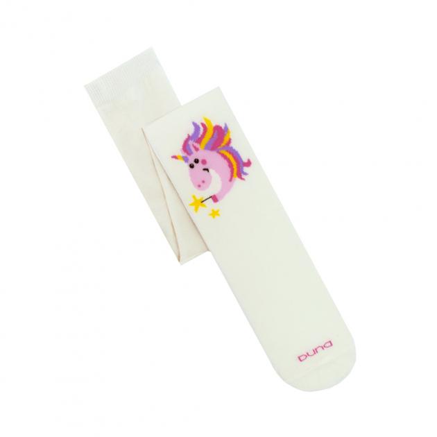 Детские колготы Duna для девочки молочные 86-92 4401 - изображение 1