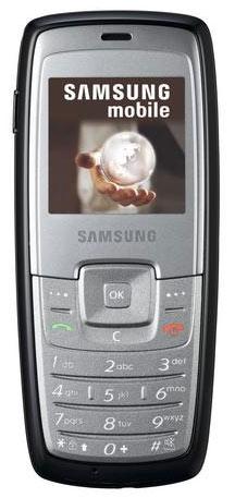 Мобільний телефон Samsung C140 misty grey - зображення 1