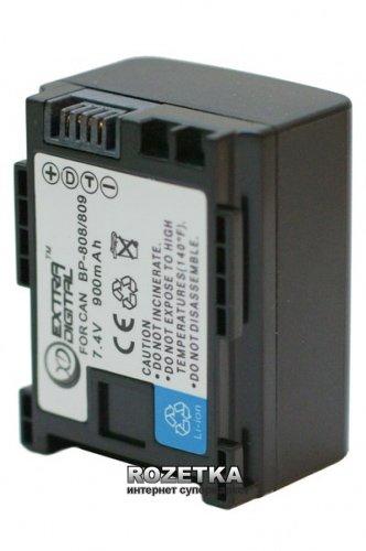 Аккумулятор для Canon BP-808 Chip, 7.4 В, 900 мАч, Li-ion (BDC2415) - изображение 1