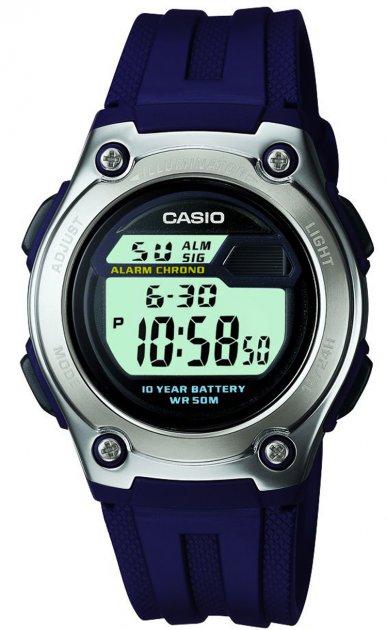 Мужские часы CASIO W-211-2AVEF/W-211-2AVES - изображение 1