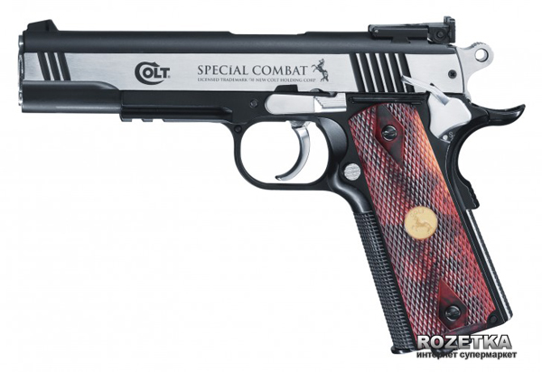Пневматический пистолет Umarex Colt Special Combat Classic (5.8096) - изображение 1