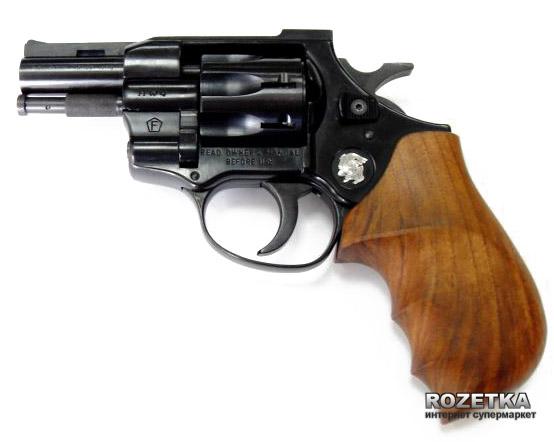 "Револьвер Weihrauch HW4 2.5"" (дерево) - зображення 1"