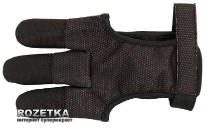 Перчатка для стрельбы из лука Bearpaw Black L (70157_L) - изображение 1
