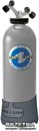 Баллон AquaLung Spiro 15 литров 200 bar Серый (187148) - изображение 1