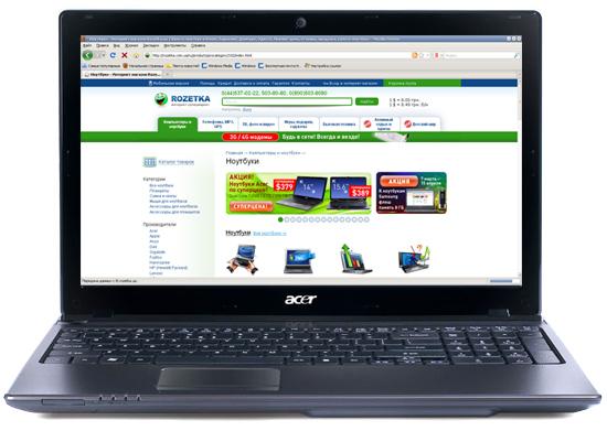Ноутбук Acer Aspire 5750G-2414G75Mnkk (LX.RGA0C.003) - изображение 1