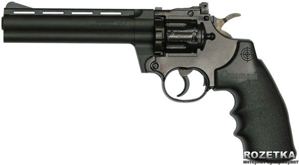 Пневматичний пістолет Crosman 3576 Revolver (3576W) - зображення 1