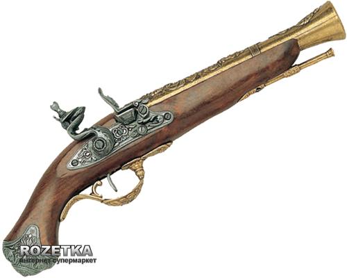 Макет пістолета з кремнієвим замком, Лондон XVIII століття, Denix (1219L) - зображення 1