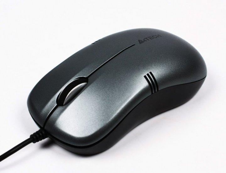Миша A4Tech OP-560NU USB Black (4711421873581) - зображення 1