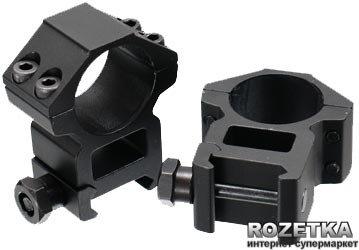 """Крепление для оптического прицела Сrosman 1"""" High Weaver (CPM2PW-25H) - изображение 1"""