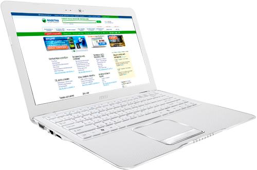 Ноутбук MSI X370-270XUA (X370-270XUA) White - изображение 1