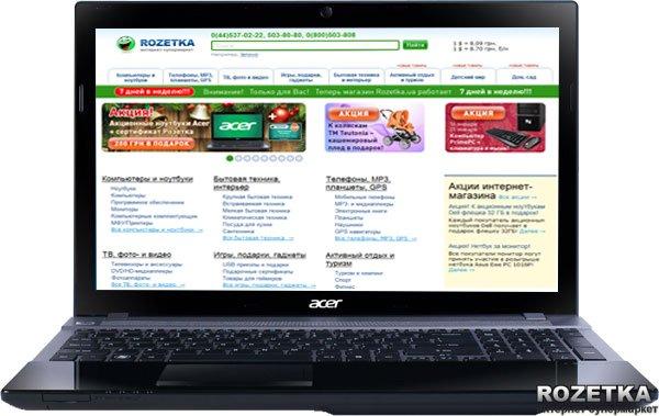 Ноутбук Acer Aspire V3-571G-53214G75Makk (NX.RZNEU.004) Black - изображение 1