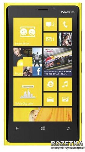 Мобильный телефон Nokia Lumia 920 Yellow - изображение 1