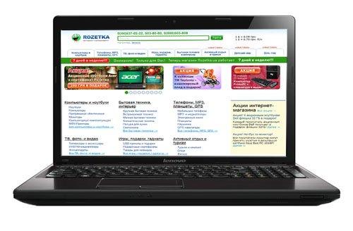 Ноутбук Lenovo IdeaPad G580AH (59-341485) - изображение 1