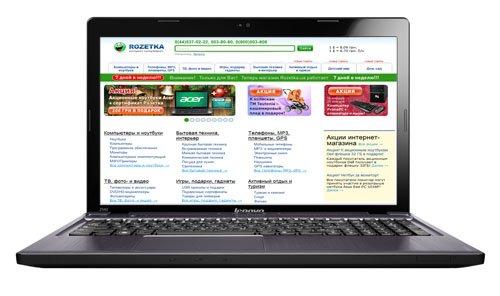 Ноутбук Lenovo IdeaPad Z580A (59-346117) - зображення 1