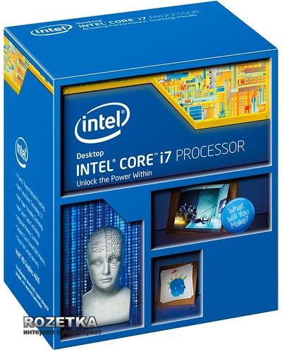 Процессор Intel Core i7-4770K 3.5GHz/5GT/s/8MB (BX80646I74770K) s1150 BOX - изображение 1