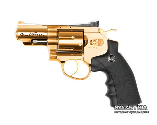 """Пневматичний пістолет ASG Dan Wesson 2.5"""" Gold (23702540) - зображення 1"""