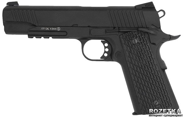 Пневматичний пістолет KWC KMB77 Blowback - зображення 1