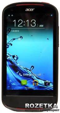 Мобильный телефон Acer Liquid E1 Duo (V360) Black (HM.HBPEU.001) - изображение 1
