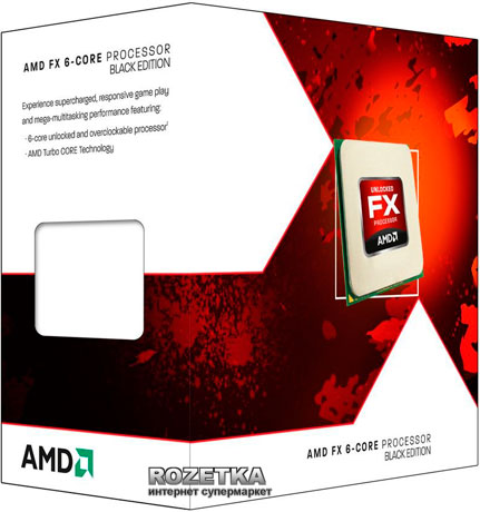 Процессор AMD FX-6350 3.9GHz/5200MHz/8MB (FD6350FRHKBOX) sAM3+ BOX - изображение 1