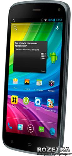 Мобильный телефон Fly IQ4410 Quad Phoenix Grey Blue - изображение 1