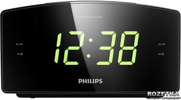 Радіогодинник Philips AJ3400/12 - зображення 1