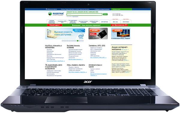 Ноутбук Acer Aspire V3-771G-33118G1TMaii (NX.MECEU.010) - изображение 1