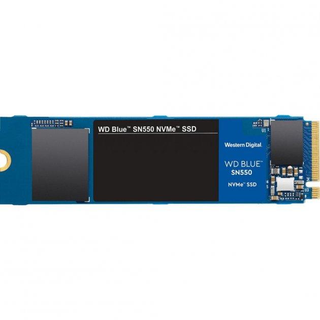 Накопичувач SSD M. 2 2280 500GB WD (WDS500G2B0C) - зображення 1