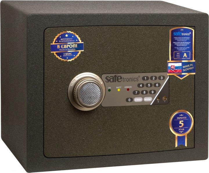 Сейф взломостойкий SAFETRONICS NTR 22E - изображение 1